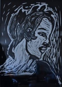 "8"" X 10"" print on printmaking paper"
