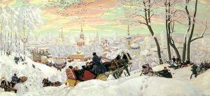 Maslenitsa/Pancake Tuesday by Boris Kustodiev